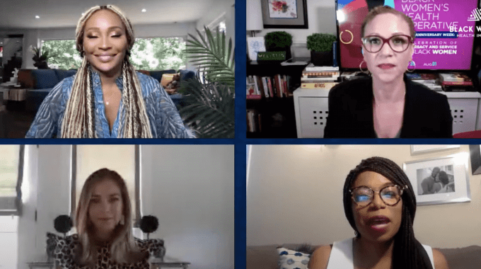 Black Women's Health Imperative Holds Fireside Chat On Empowering Women With Uterine Fibroids
