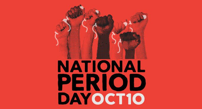 Logo For National Period Day On October 10